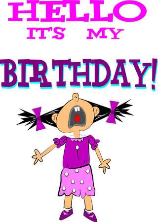 hallo zijn mijn verjaardag van de diva