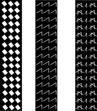 tire tracks over white pattern Vector