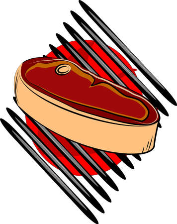 bbq time  Vector