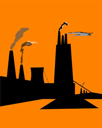 industrial promises concept vector