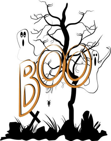 boo Stock Vector - 12929000