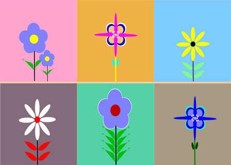 sixties pattern background