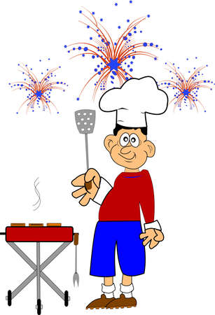 festive occasions: july 4th cookout