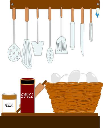 my kitchen Stock Vector - 13375861