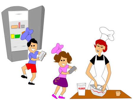 geladeira: crian