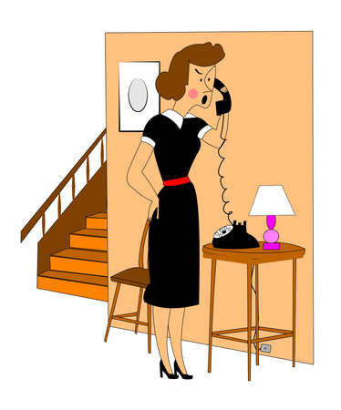 passing over: woman getting upset on phone