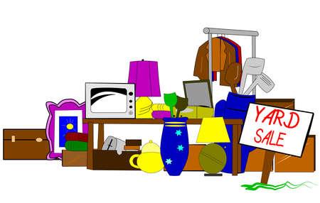 garage sale clipart