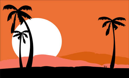 barren: desert sun abstract