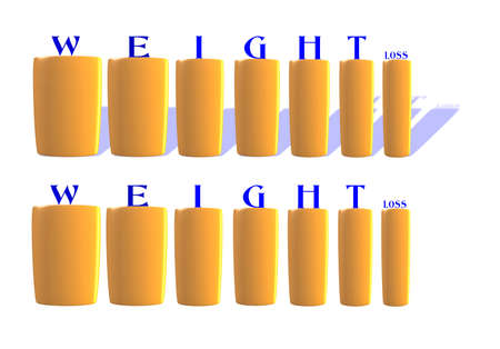 weight loss concept Stock Vector - 15633641