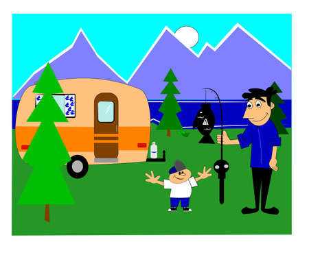 motivate: camping trip with dad