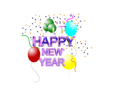 festive occasions: happy new year 2013  in 3d  Stock Photo