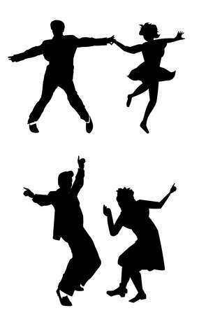dance man  向量圖像