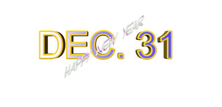 dec. 31 happy new year
