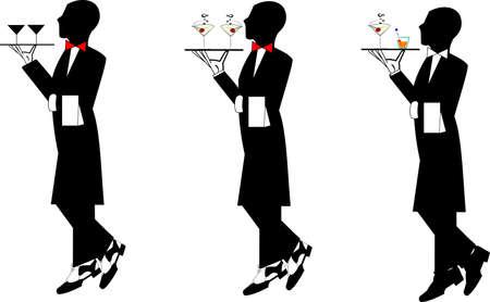 waiters  일러스트
