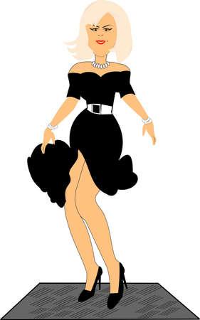 marilyn: marilyn  Illustration