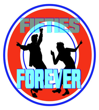 jive: fifties forever Illustration