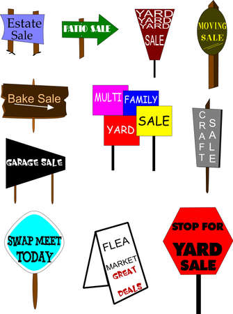 sale signs photo