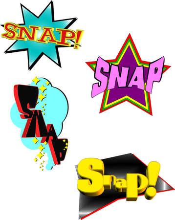 snap: snap art Illustration