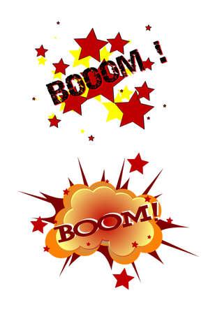 boom art Illusztráció