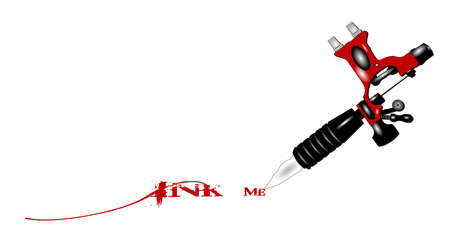 ink me tatoo machine concept
