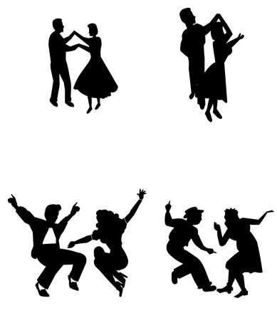 jive: rock the house dancers
