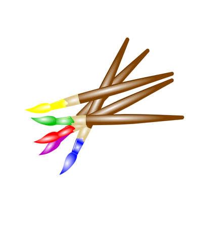 creative arts: artists brushes