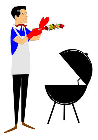 60's: bbq time