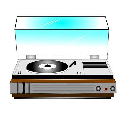 50 代から古いレコード プレーヤー