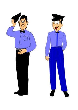 60's: service station attendants