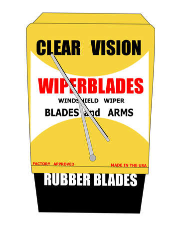 retro windshield wipers reapir station