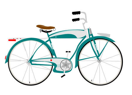 bicicleta retro: cincuenta bicicletas