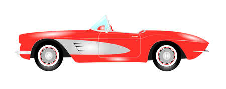 sports car Ilustrace