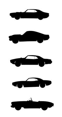 challenger: muscle cars set