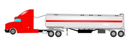 camión cisterna: camiones tanque de aceite