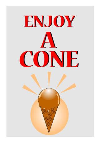 era: enjoy a cone of ice cream