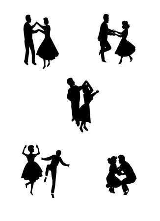 40 s: swing dance night