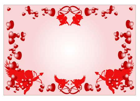 romance concept  Ilustracja