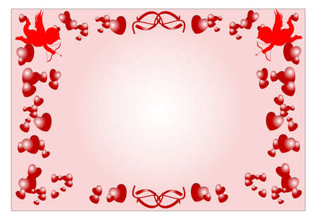 romance concept for special occadions  Vector