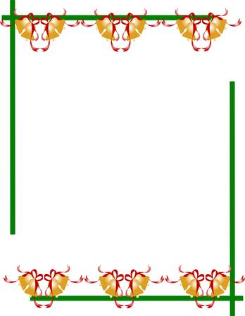 ringer: festive border with bells