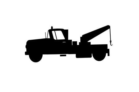 the wrecker: tow truck