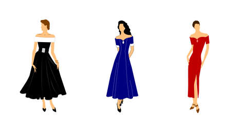 poise: women in gowns