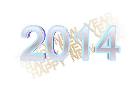 beginnings: 2014 happy new years design