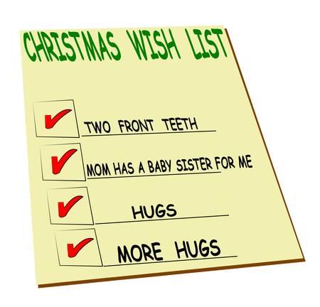wish list: kids simple christmas wish list