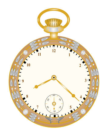 early 40s: vintage pocket watch
