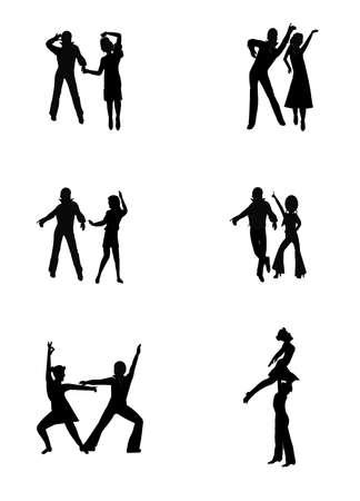 night: disco night moves  Illustration