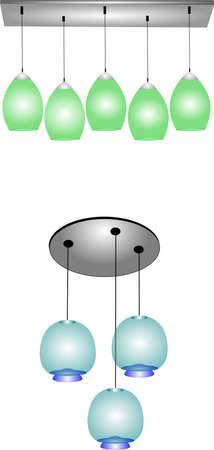 家庭用アールデコ ランプ
