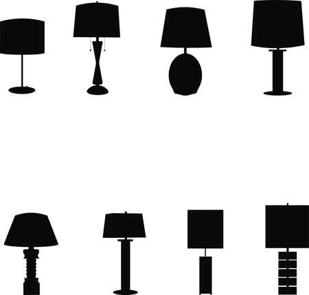 creative arts: retro tablelamps templates