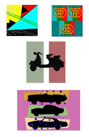 funk: funk patterns  Illustration
