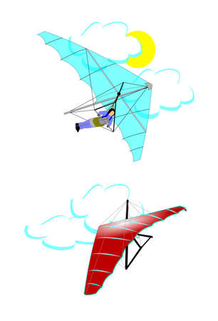 hang glider: hang glider concept