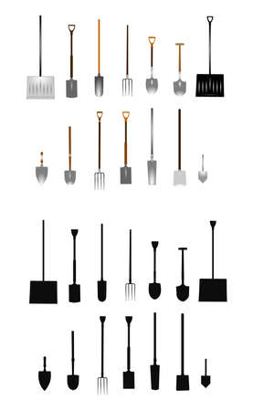 spring time tools  Ilustrace